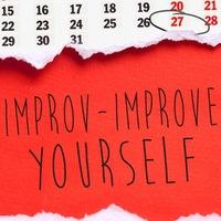 Лекція: Improv - improve yourself
