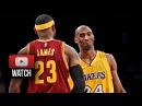 LeBron James vs Kobe Bryant EPIC Duel Highlights Lakers vs Cavaliers (2015.01.15) - LEGENDS!