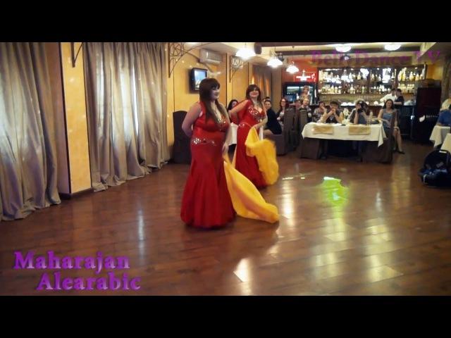 Bellydance TV - Maharajan Alearabic - Елена Коныгина и Марина Худякова
