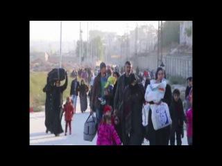 - источники YPG заявляют, что со вчерашнего дня в район Шейх Максуд прибыло более 6 тысяч жителей из восточных районов города.