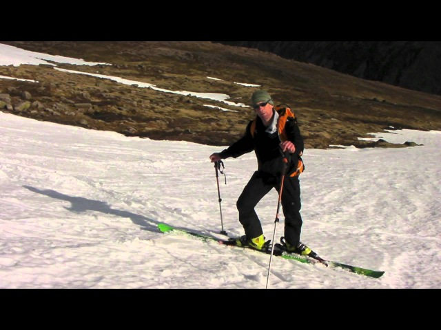 Ski Touring Top Tips for Performing Kick Turns with Glenmore Lodge