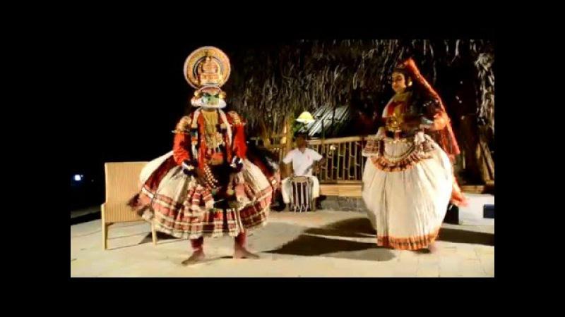Катхакали народные танцы штата Керала Индия video by SALOMA
