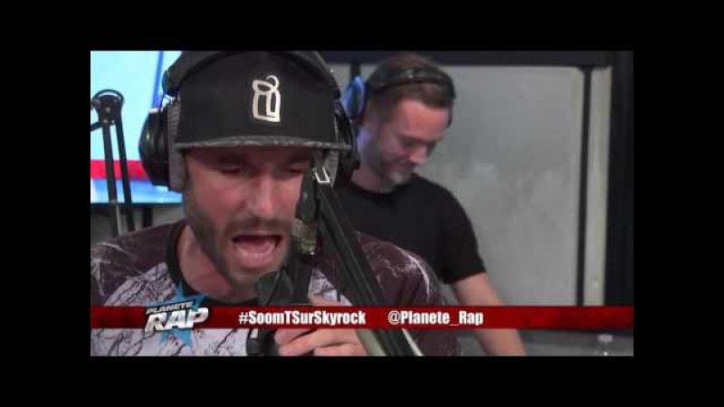 Soom T Spri Noir PapaStyle Naaman en live dans Planète Rap