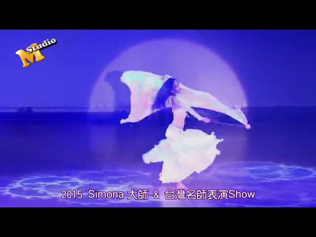 Sophia Kong Bellydance-Veil Poi Performance in Taipei