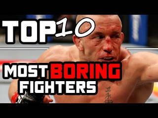 TOP 10 Most Boring Fighters In MMA