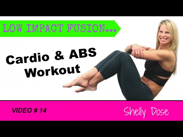 27 Min Low Impact Cardio Abs Fusion Home Workout All Levels | at Home Workout Video For Women