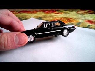 Обзор масштабной модели Ford Taunus MK3