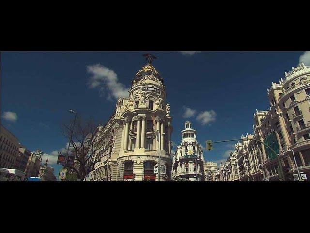 Madrid Barrio a Barrio La Gran Vía el Madrid nocturno