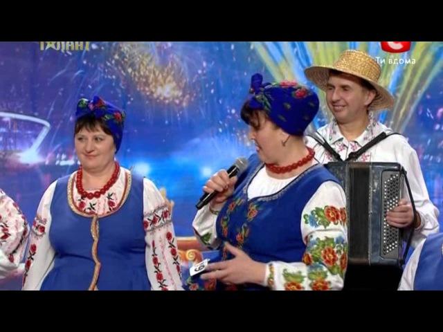 Наталя Фаліон Україна має талант. Сама файна (HD)