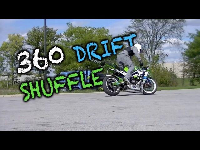 Sport bike 360 DRIFT shuffle KYLE SLIGER