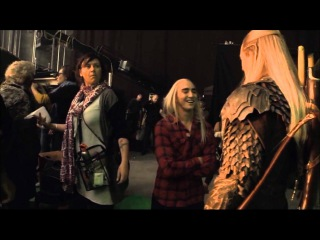 LEE PACE, ORLANDO BLOOM - The Hobbit (DOS BTS)