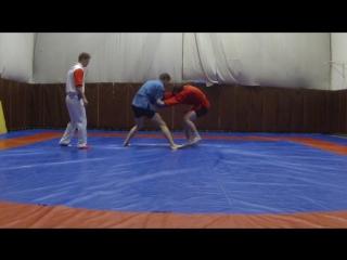 Соревнования по Боевому Самбо 2 схватка вес до 82 кг