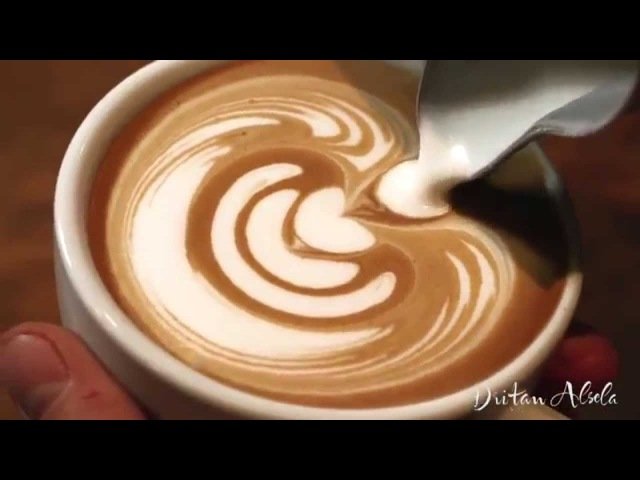 Latte Art Style by Barista Dritan Alsela