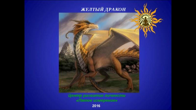 Желтый дракон DR