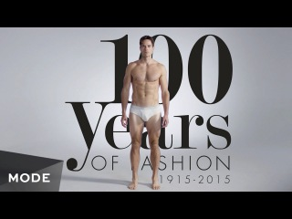 Как изменялась мужская мода за 100 лет / 100 Years of Men's Fashion in 3 Minutes