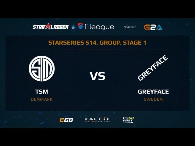 TSM vs GreyFace - Map 1 - Overpass (SL i-League StarSeries XIV)