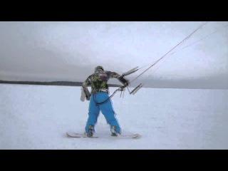 KITEWORLD TV: Трюки в сноукайтинге: Surface.