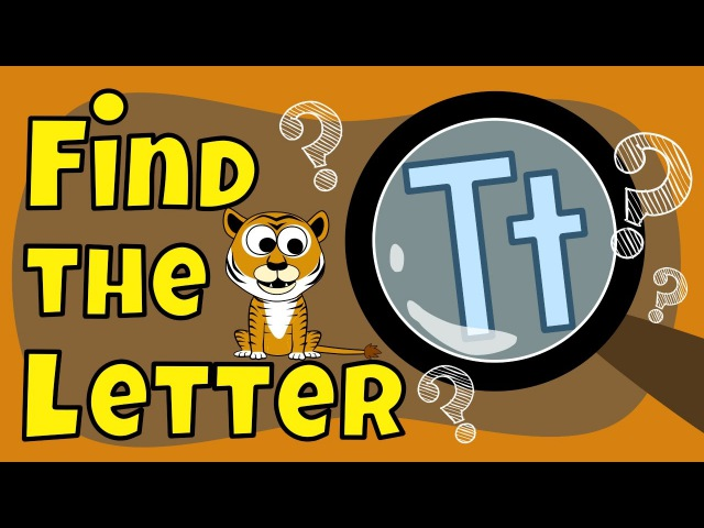 Alphabet Games | Find the Letter T