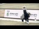 Новогодние соревнования в Maxima Stables Кюр Становская Анастасия и Фараон