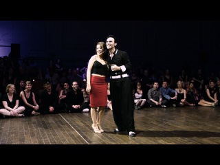 Tango: Noelia Hurtado y Oliver Koch, 26/04/2015, Brussels Tango Festival, Random couples #4/5