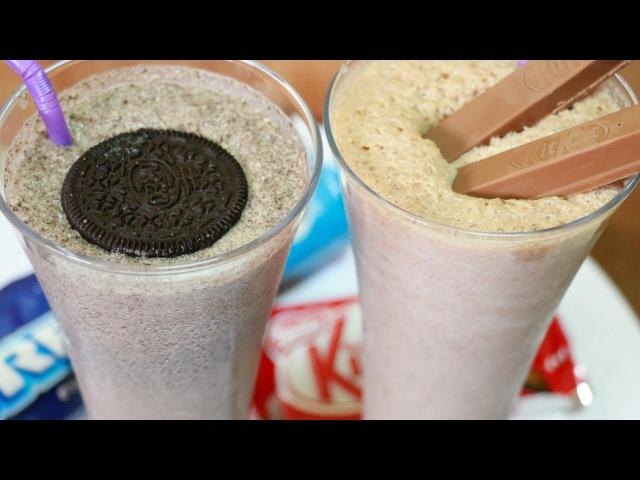 Ну оОчень вкусные Молочные Коктейли Oreo и Kit Kat !