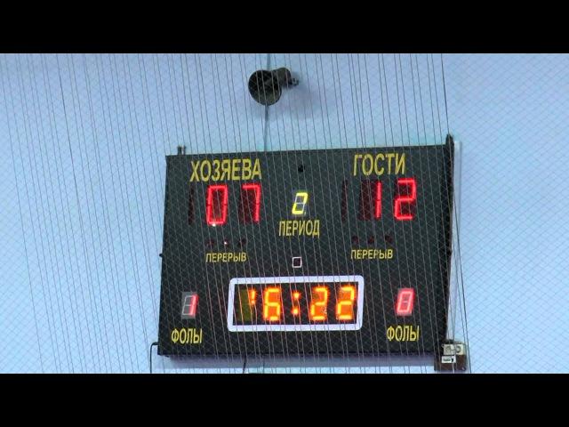 Алексеевка НАЛМИ 05 03 2016 Высшая лига