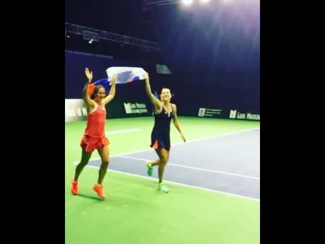 """Nazarenko Anastasia on Instagram Не получилось попасть на супер финал с @vesnushka86 но мысленно была с вами Спасибо за победу Гордимся 🇷🇺🇷🇺🇷🇺💗😘 кубокКремля…"""""""