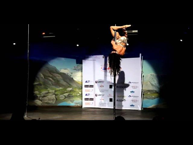 Pole Dance World Championship 2010 Zoraya Judd