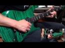 Brian Gilmanov Carvin C66 with Kiesel Lithium Pickups Demo *1080p*