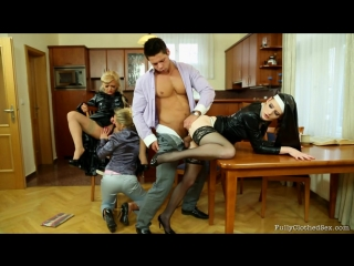 Fullyclothed Sex - Nicky Angel, Barra Brass  Denisa - Fully Clothed Pleasing Th