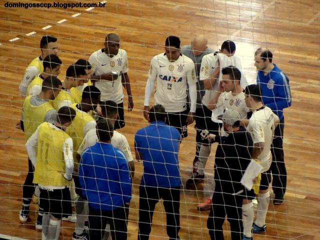 18ª RODADA CORINTHIANS 5X3 ALAF FUTSAL 16 08 2016
