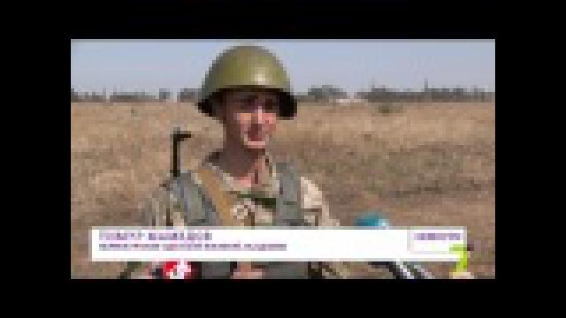 Курсанты Одесской военной академии прошли обкатку танком