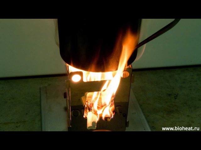 Мультитопливная печка bioheat T10