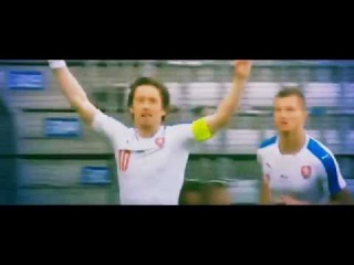 TOMAS ROSICKY Amazing Goal Russia 1 - 2 Czech Republic 2016