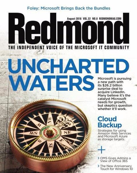Redmond Magazine - August 2016
