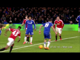 FIVE OF THE BEST: Fabregas assists for Diego Costa