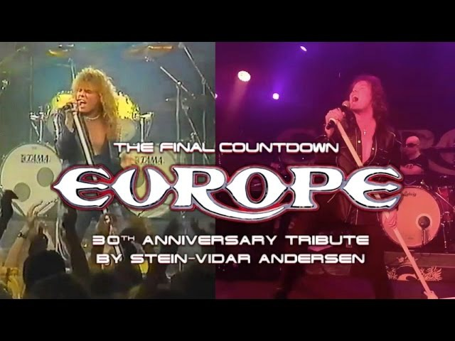 EUROPE - The Final Countdown 30th Anniversary Tribute 1986–2016