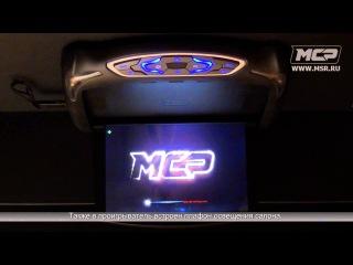 """Автомобильный потолочный монитор Ridian RM1330 DVD, 13.3"""""""