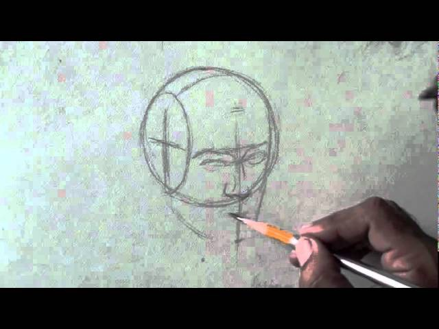 How To Draw A Head The Andrew Loomis Approach Part 1.flv