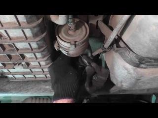 Мазда Трибьют: ремонт и обслуживание - Замена топливного фильтра