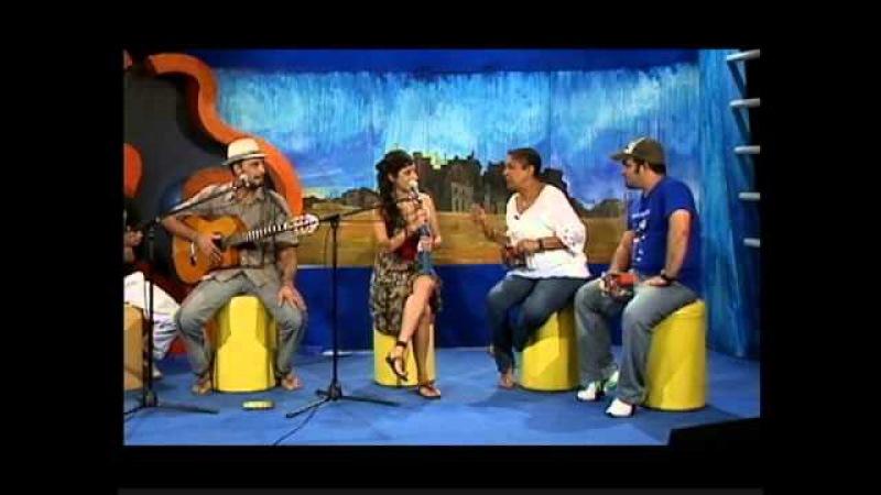 Duo El gato negro y la loca Zebra.Programa entre manos Habana-Cuba