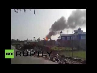 Ирак: ИГ смертники уничтожил кухонное единиц хранения газа в Багдаде.
