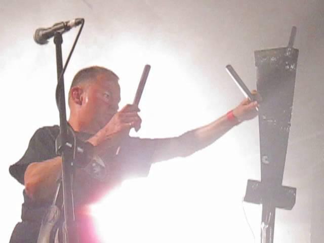 Test Dept Redux live @ Raw Power Festival London 27 05 16 Part 1