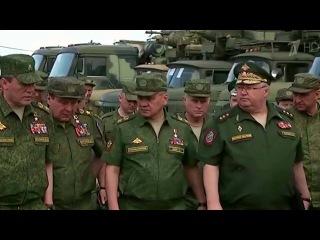 Министр обороны Сергей Шойгу прибыл с инспекцией в части Южного военного округа. Новости. Первый канал