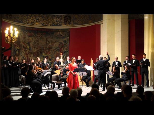 G Pergolesi Confitebor tibi Domine Il Giardino Armonico Julia Lezhneva ансамбль INTRADA