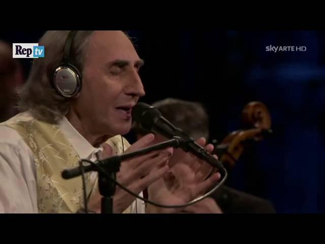 La cura Franco Battiato versione inedita con orchestra