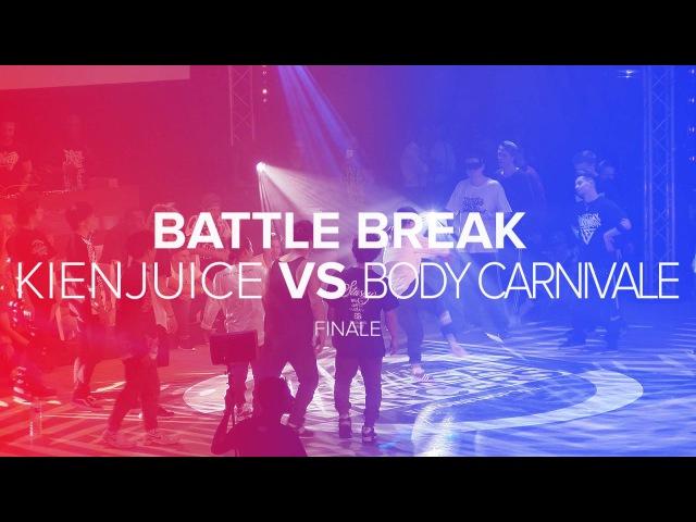 UD/16 I KIENJUICE vs BODY CARNIVAL I BBOYING FINALS I OFFICIAL