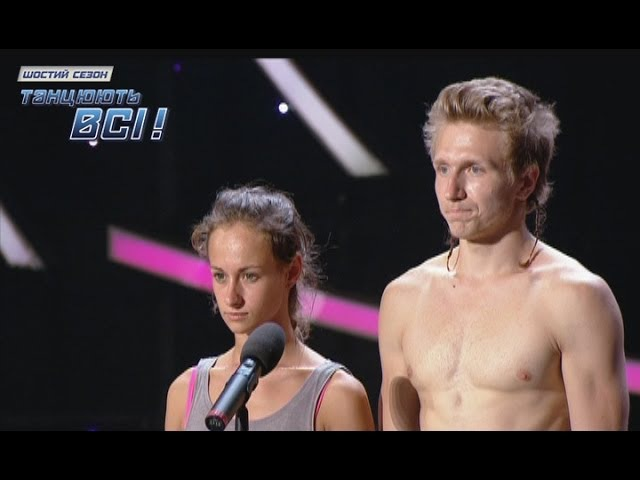 Алиса Доценко и Дмитрий - Тренировочный лагерь - Танцуют все 6 - 01.11.2013