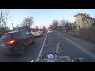 Щелковское шоссе. Обычная поездка. VTX1800