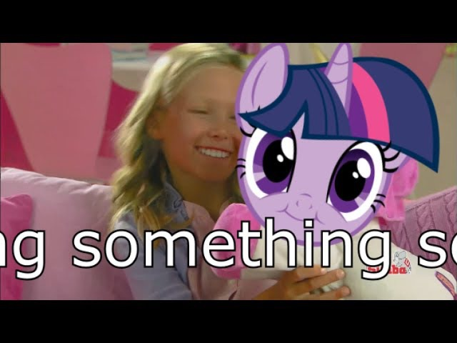 FILLY HAS COMPETITION FROM THIS WEIRD GIRL'S MY LITTLE PONY WHO CAN BELIEVE COMPETITION HAHAHAH NO